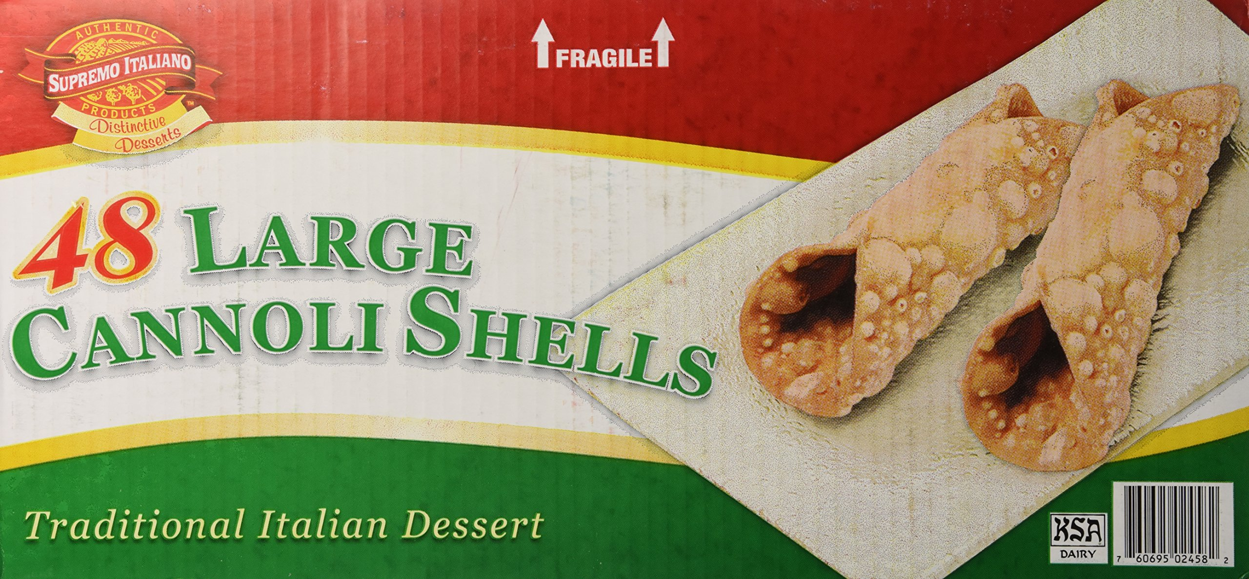 Supremo Italiano Cannoli Shells 48 Ct.