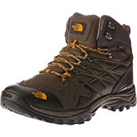 The North Face Men's Hedghog Fp Mid GTX, Shoes, Shrmbn/Brshfror
