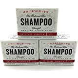 J.R. Liggett's Shampoo-Original Old-Fashioned Bar - 3.5 Ounce (Pack of 3)