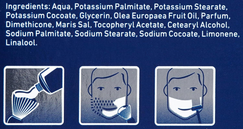 Nivea 65718 - Crema de afeitar, 100 ml, paquete de 4 unidades: Amazon.es: Belleza