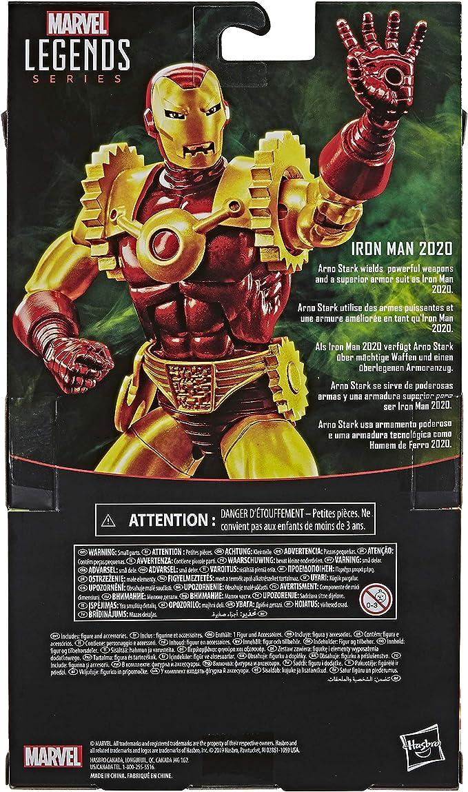 "HASBRO MARVEL LEGENDS IRON MAN 2020 6/"" ACTION FIGURE EXCLUSIVE"