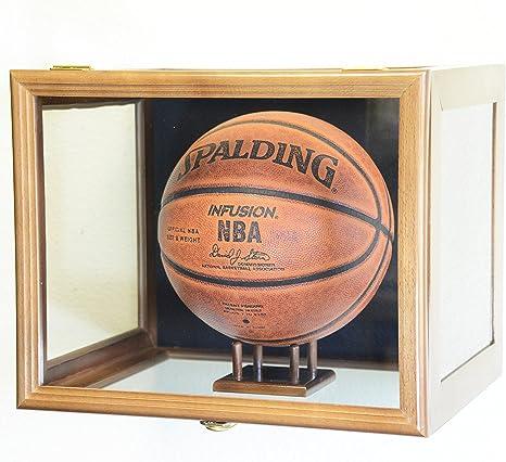 Clara Visualización/Balón de baloncesto balón de fútbol vitrina ...