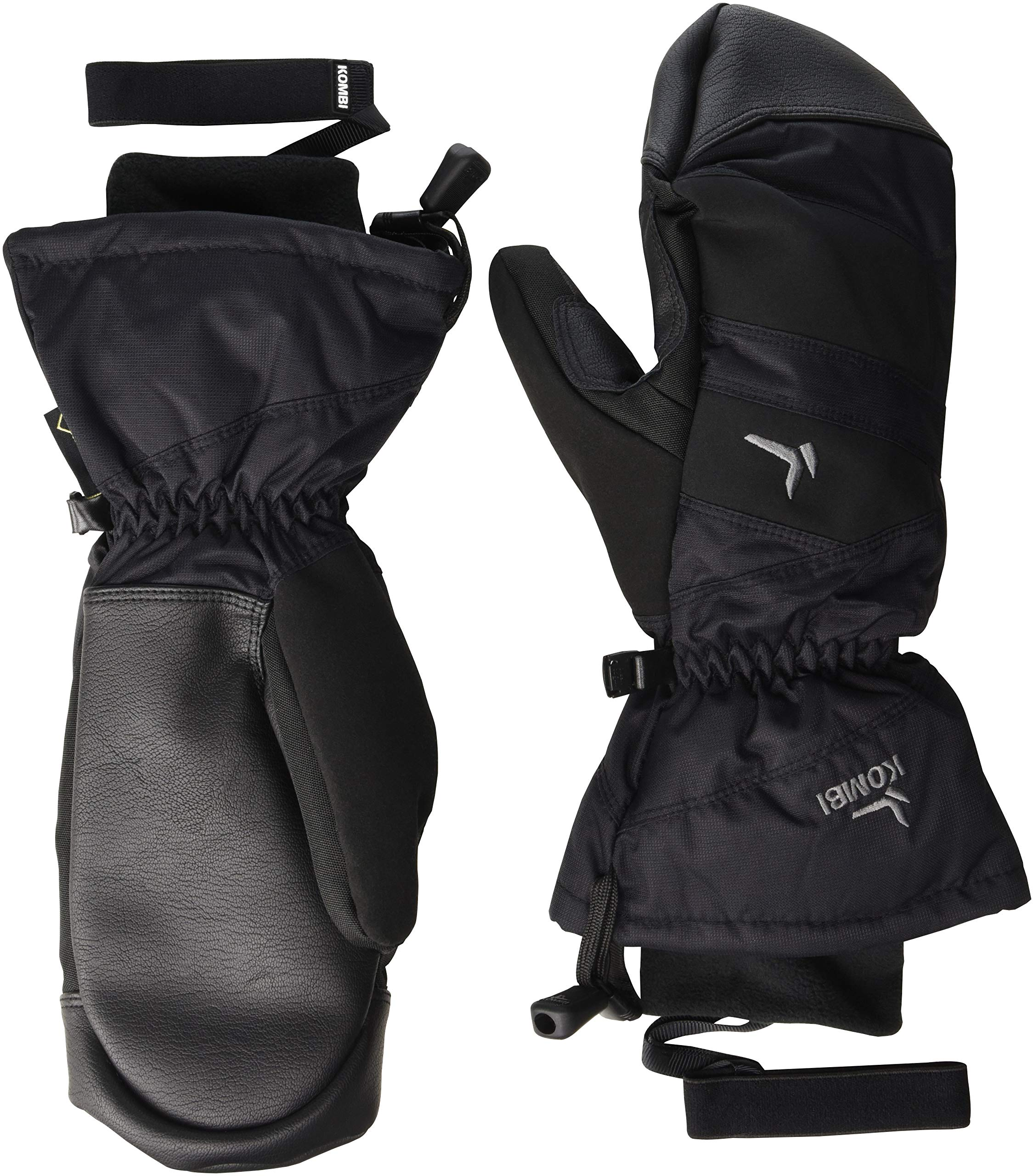 Kombi Women's Session Cold Weather Mittens, Large, Black