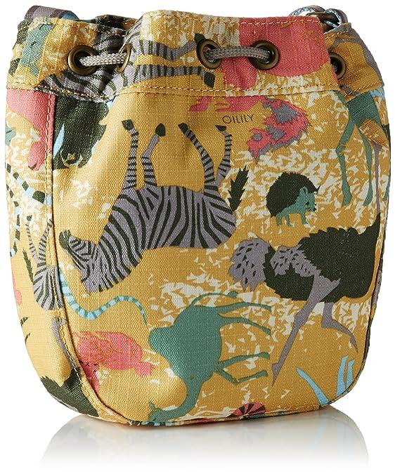 Oilily OES7150 - Mochila de Sintético Niñas, color Amarillo, talla 5x17x16 cm (B x H x T): Amazon.es: Zapatos y complementos