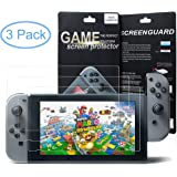 "3 Pack Screen Protector for Nintendo Switch 6.2"" Tablet Screen By Mibote"