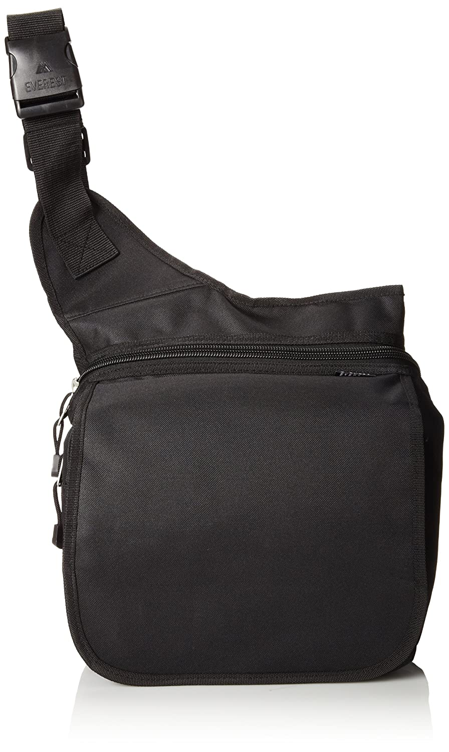 Everest Messenger Bag – Large, Black, One Size