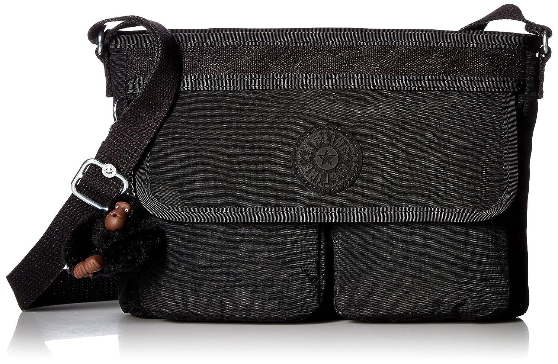 c35663032a1a Kipling Angie Solid Convertible Crossbody Bag, Black: Handbags ...