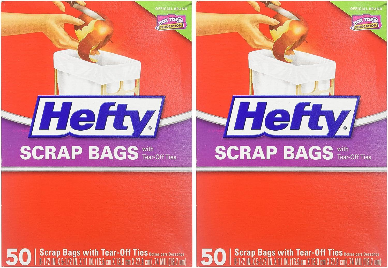 Hefty Scrap Bag Refills - 100 bags