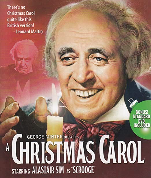 Amazon.com: A Christmas Carol (Blu-ray / DVD Combo): Alastair Sim ...