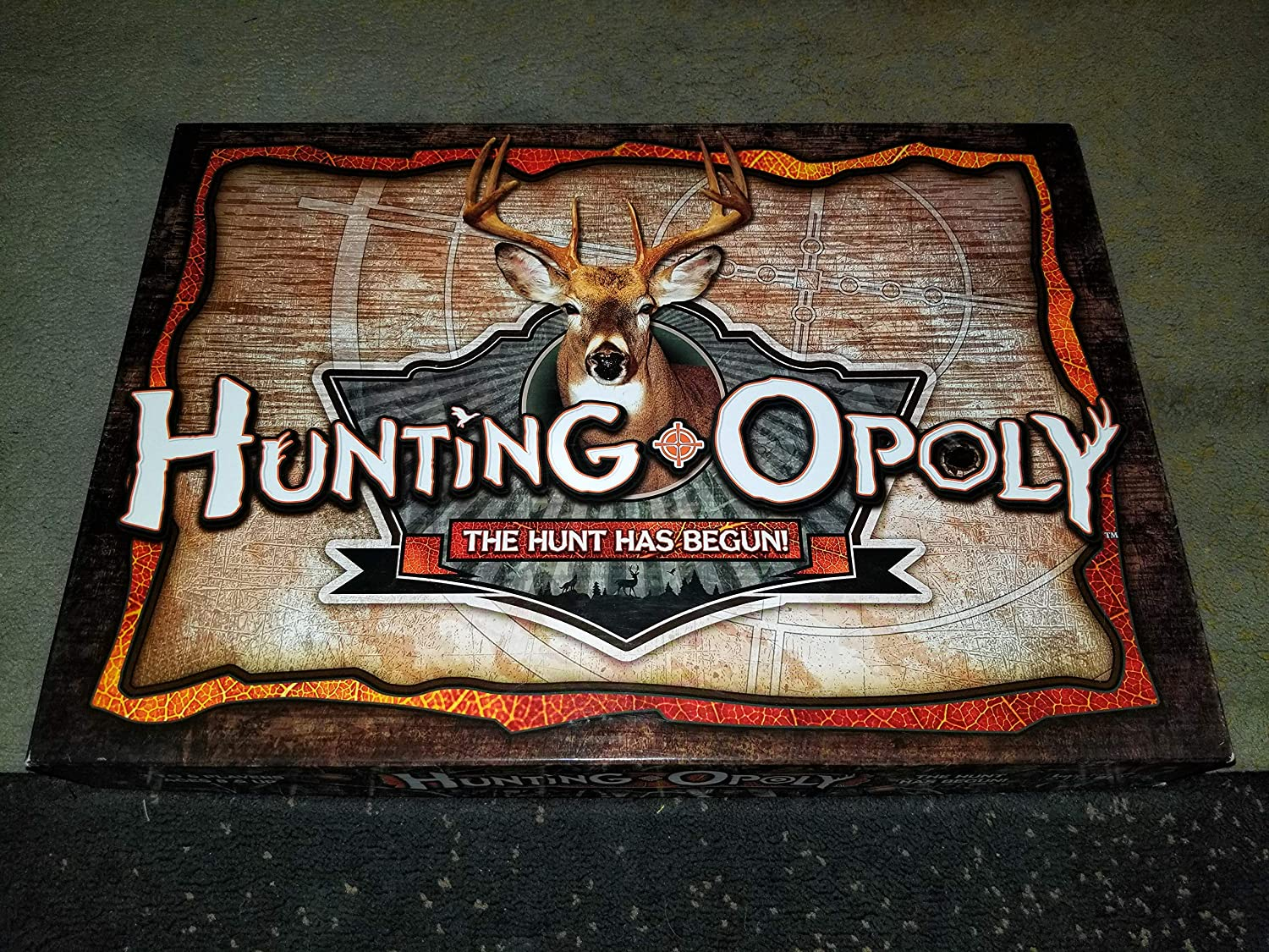 Hunting-opoly Board Game by Late for the Sky