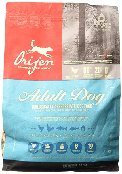 Orijen Mezcla seca para perro (2,5 kg): Amazon.es: Productos para mascotas