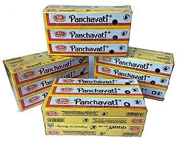 Panchavati Dhoop - Varillas de incienso - 48 cajas - 10 bolsas en cada caja (480): Amazon.es: Hogar
