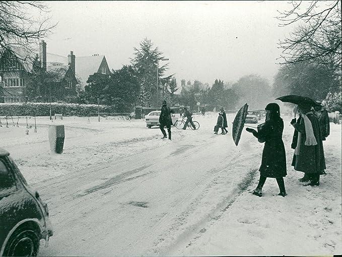 Amazon com: Vintage photo of Winter Scenes: Norwich Snow
