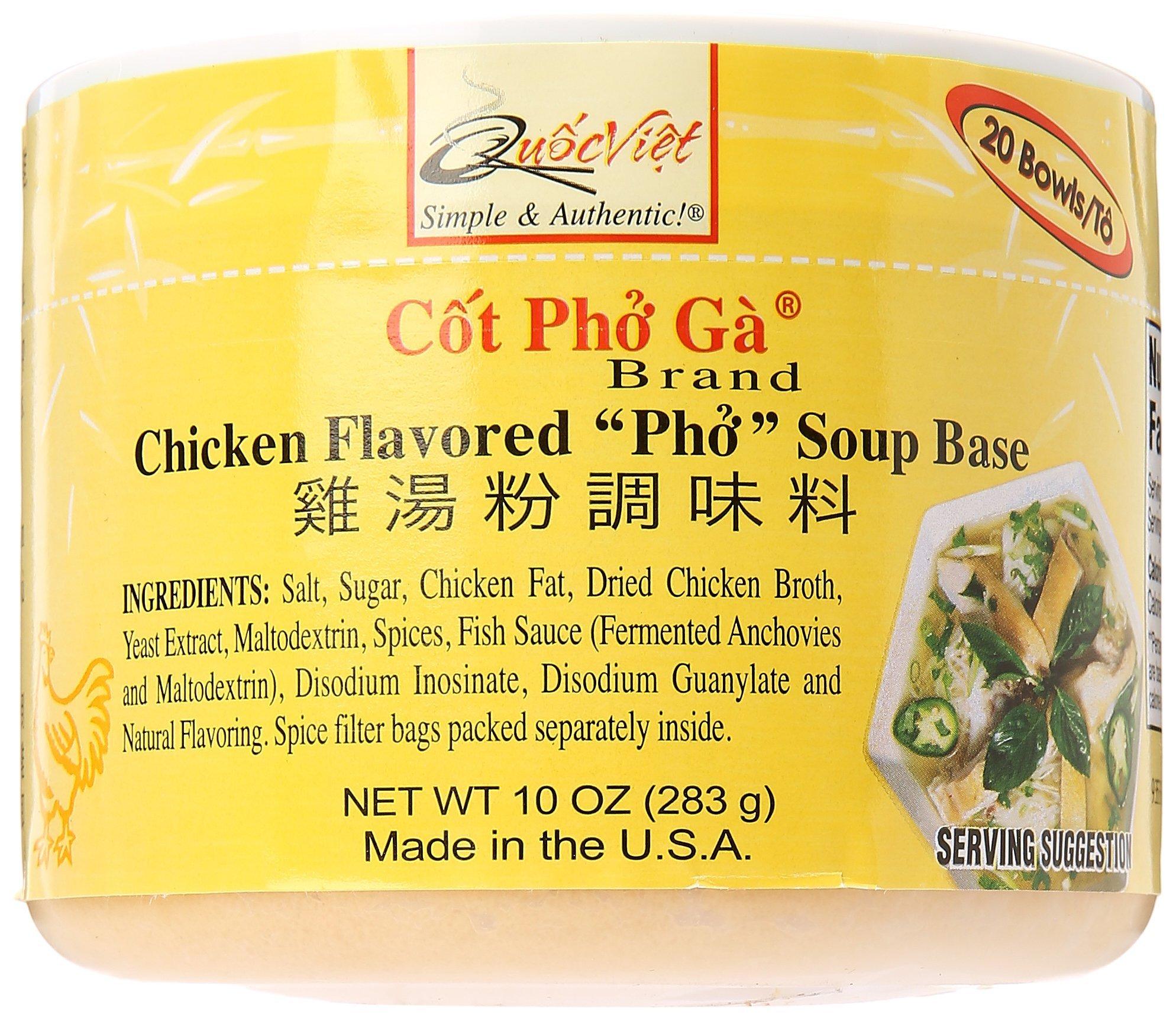 10oz Quoc Viet Foods Chicken Flavored Pho Soup Base (Cot Pho Ga) - One de87182aede