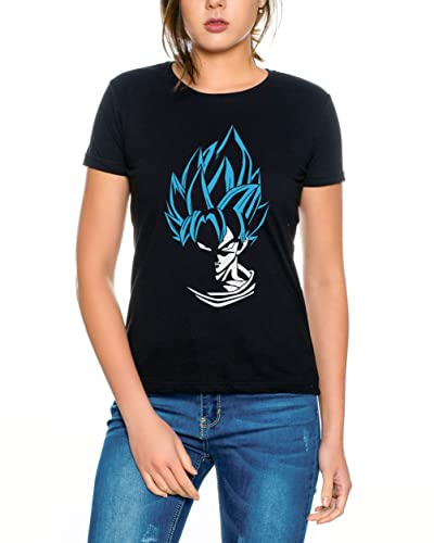 Super Son Goku Camiseta de mujer Goku Dragon Master Son Ball Vegeta Turtle Roshi Db