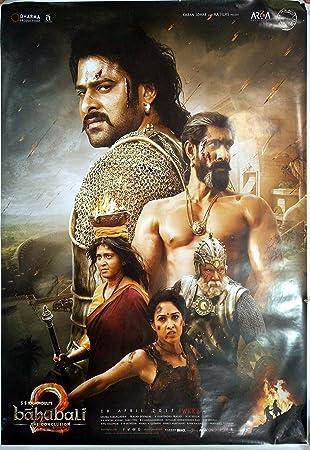 amazon bahubali 2 baahubali bollywood映画ポスターprabhas tamannah