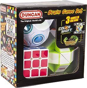 Duncan Brain Game Set, 3 Piece Small Fidget Puzzle Set