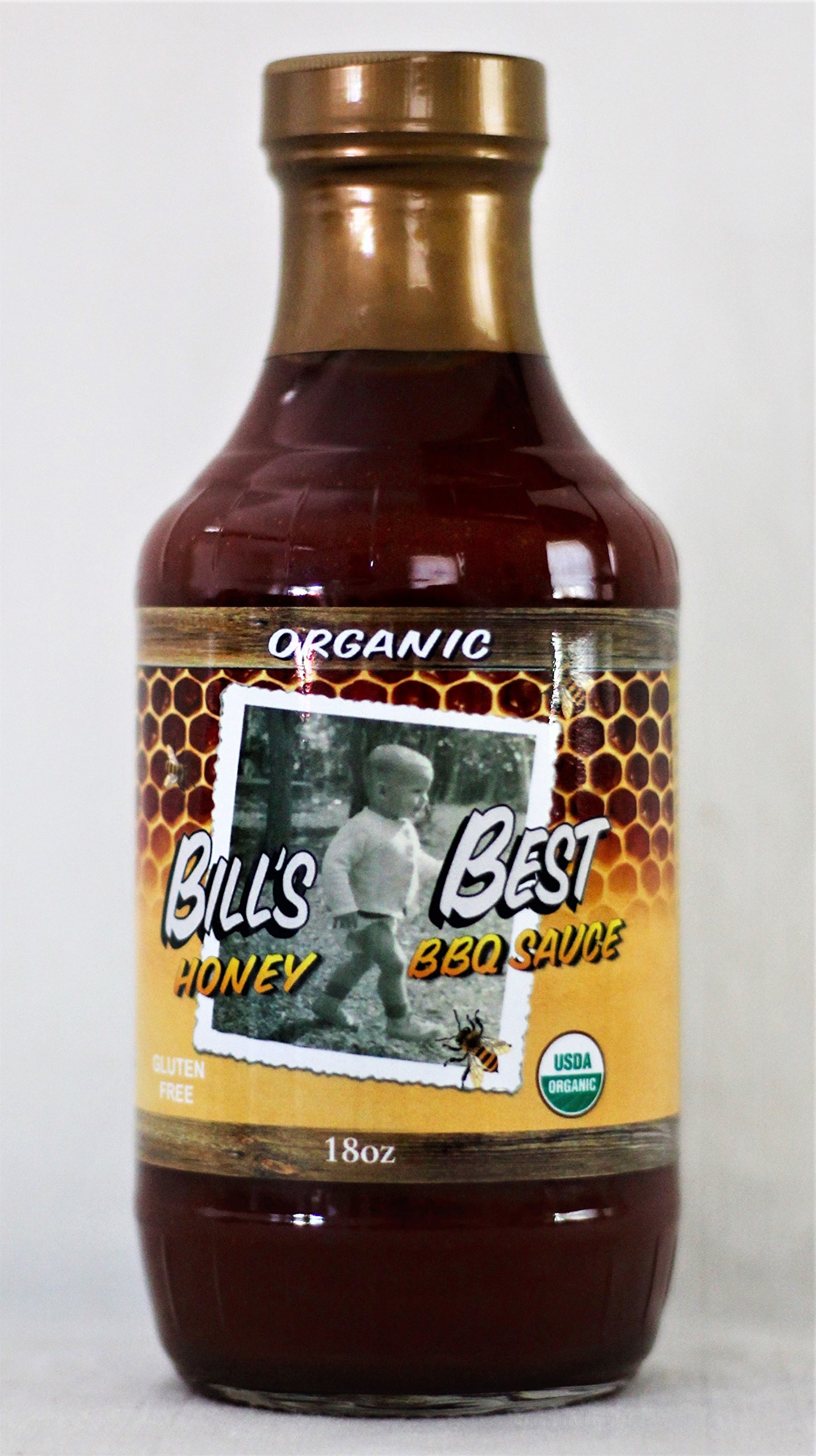 Bill's Best Organic BBQ Sauces, Honey