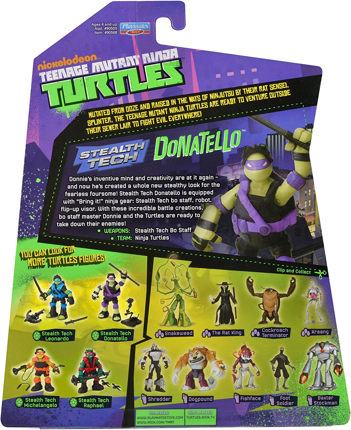 Amazon.com: Teenage Mutant Ninja Turtles Stealth Tech ...