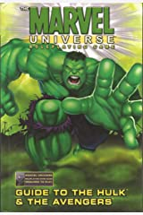The Marvel Universe Role Playing Game: Guide to the Hulk & the Avengers Hardcover