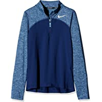 Nike Dri Fit Element Half Zip Manga Larga
