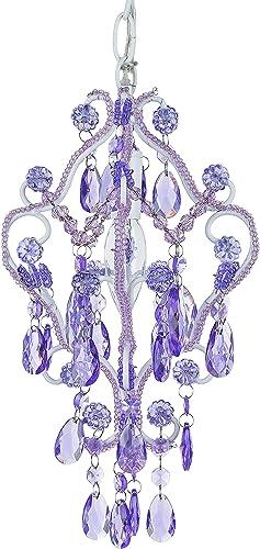 Amalfi Decor 1 Light LED Crystal Beaded Chandelier