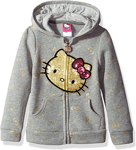 Hello Kitty Toddler Girls Fleece Active Set with Sequin Applique Size 2T 3T 4T