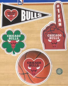 Chicago Bulls 4 Pack Magnet Set