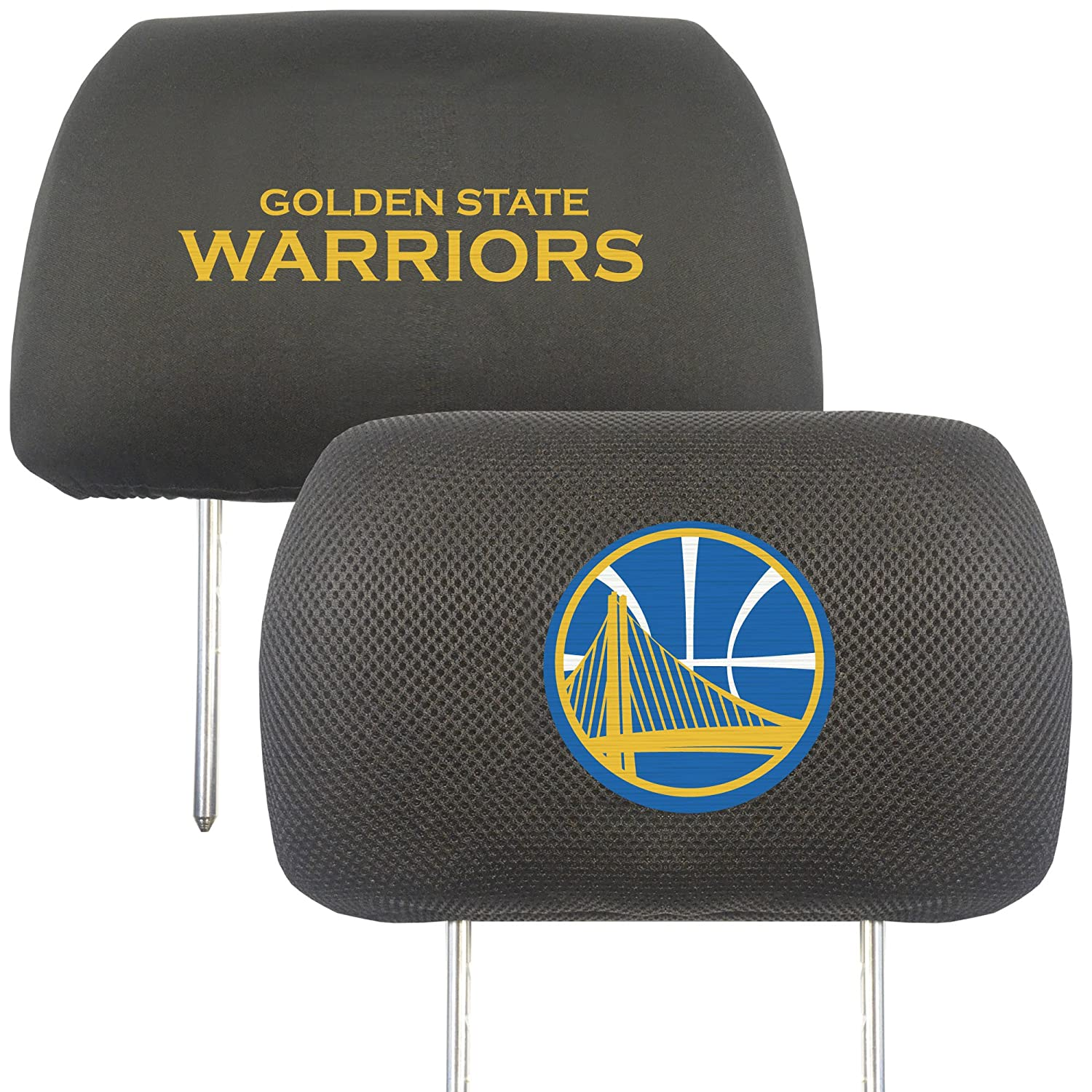 FANMATS 20323 NBA - Golden State Warriors Head Rest Cover, Team Color, 10'x13' 10x13