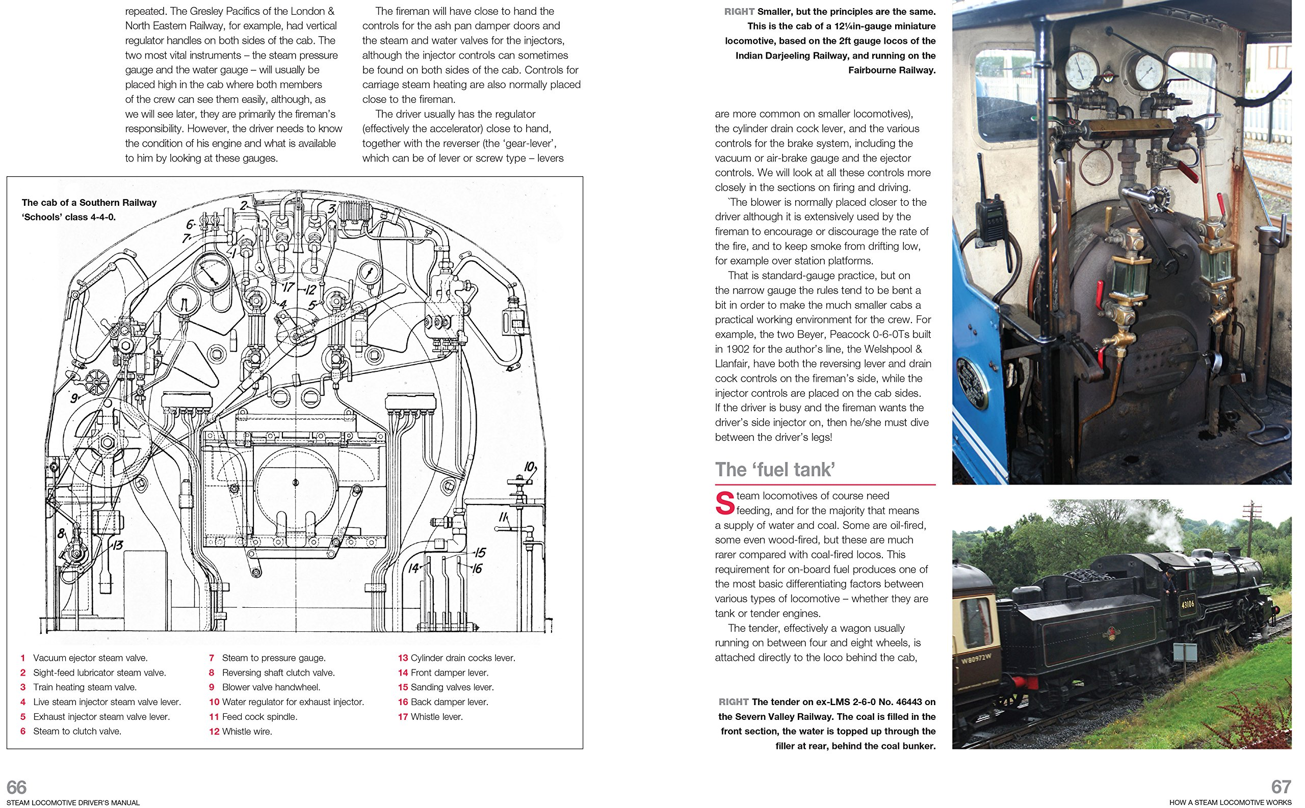 Steam Locomotive Driver's Manual: The step-by-step guide to