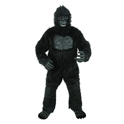 Seasons Deluxe Gorilla Costume with Feet: Toys & Games