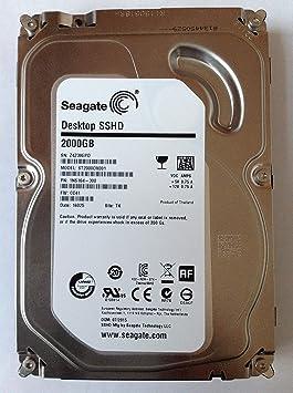 Seagate 2TB SSHD - Disco duro híbrido (2000 GB, 8GB SSD, Serial ...
