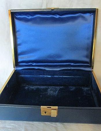 Amazoncom Vintage Farrington Texol Jewelry Box Timed in Brass
