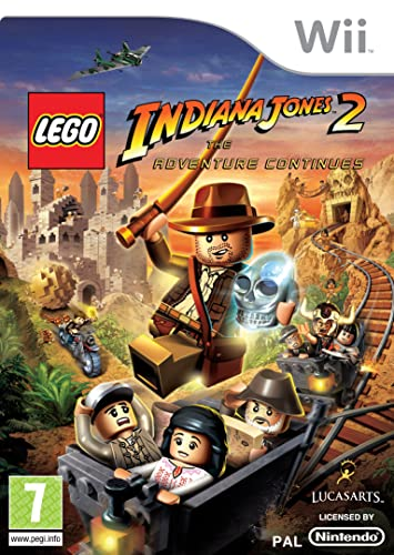 LEGO Indiana Jones 2: The Adventure Continues (Wii): Amazon.co.uk: PC & Video Games
