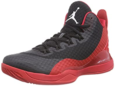 new concept e6bab b4240 Nike Herren Jordan Super.Fly 3 PO Baseballschuhe Rot (University red White-