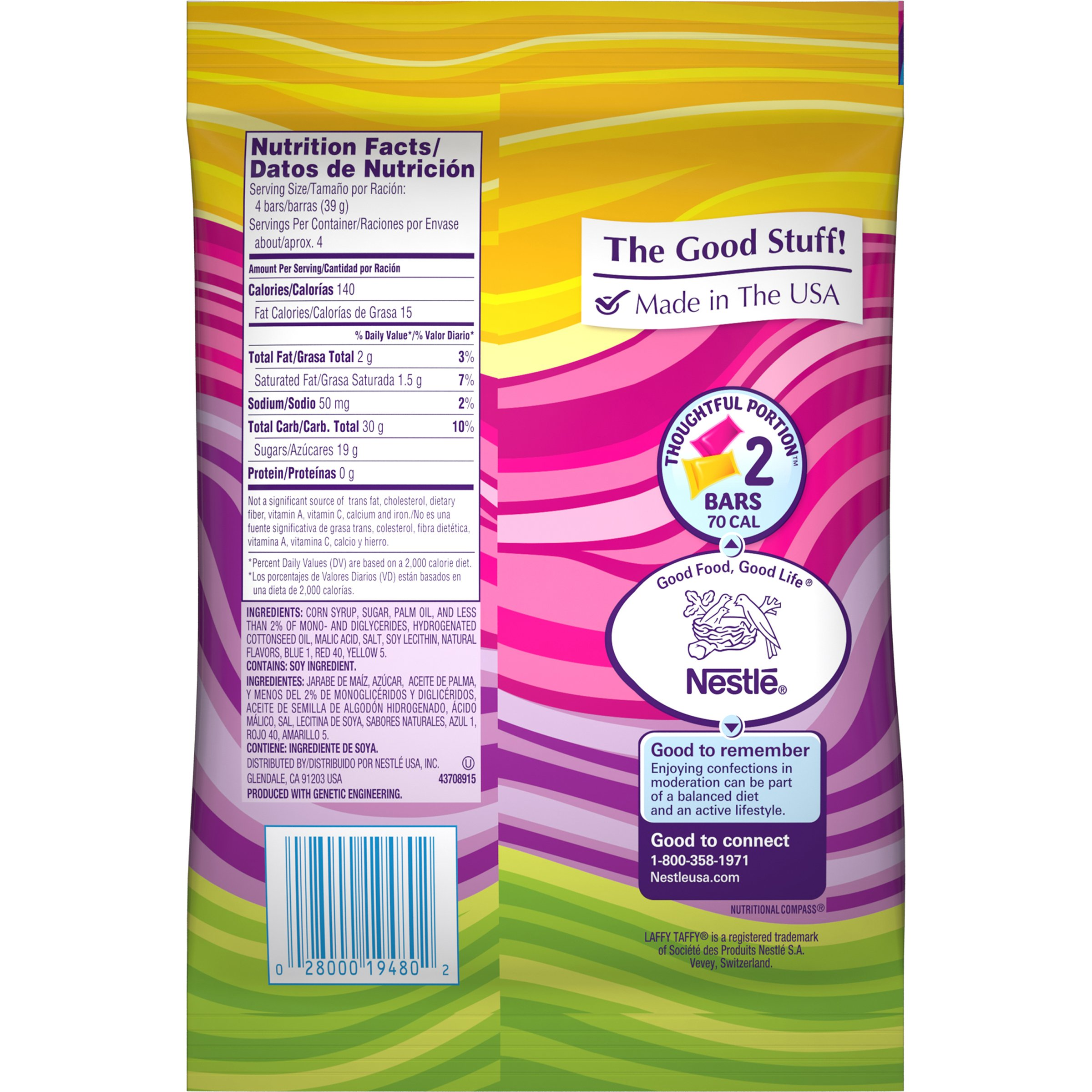 Laffy Taffy Assorted Mini Bars, 6 Ounce Bags (Pack of 12) by Laffy Taffy (Image #4)