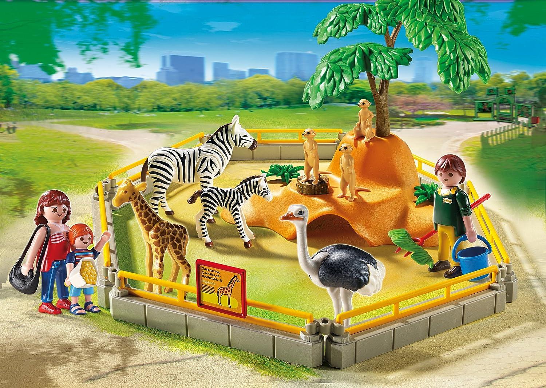 PLAYMOBIL 5968 Wild Animal Enclosure Playset by PLAYMOBIL/Ã/ƒ/Â/'/Ã/'/Â/®