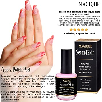 Amazon Nail Art Liquid Latex Barrier Simply Peel Off Liquid