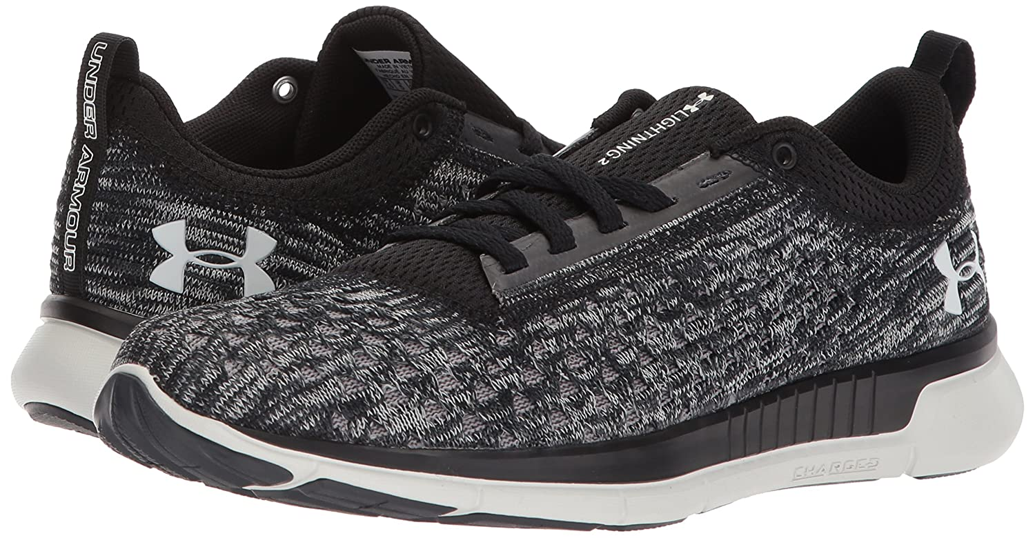 Under Armour Shoe Women's Lightning 2 Running Shoe Armour B07144PJG7 9.5 M US|Black (001)/Anthracite 99aaca