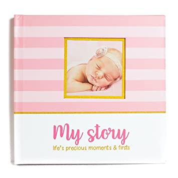 LovelySprouts First Year Baby Memory Book