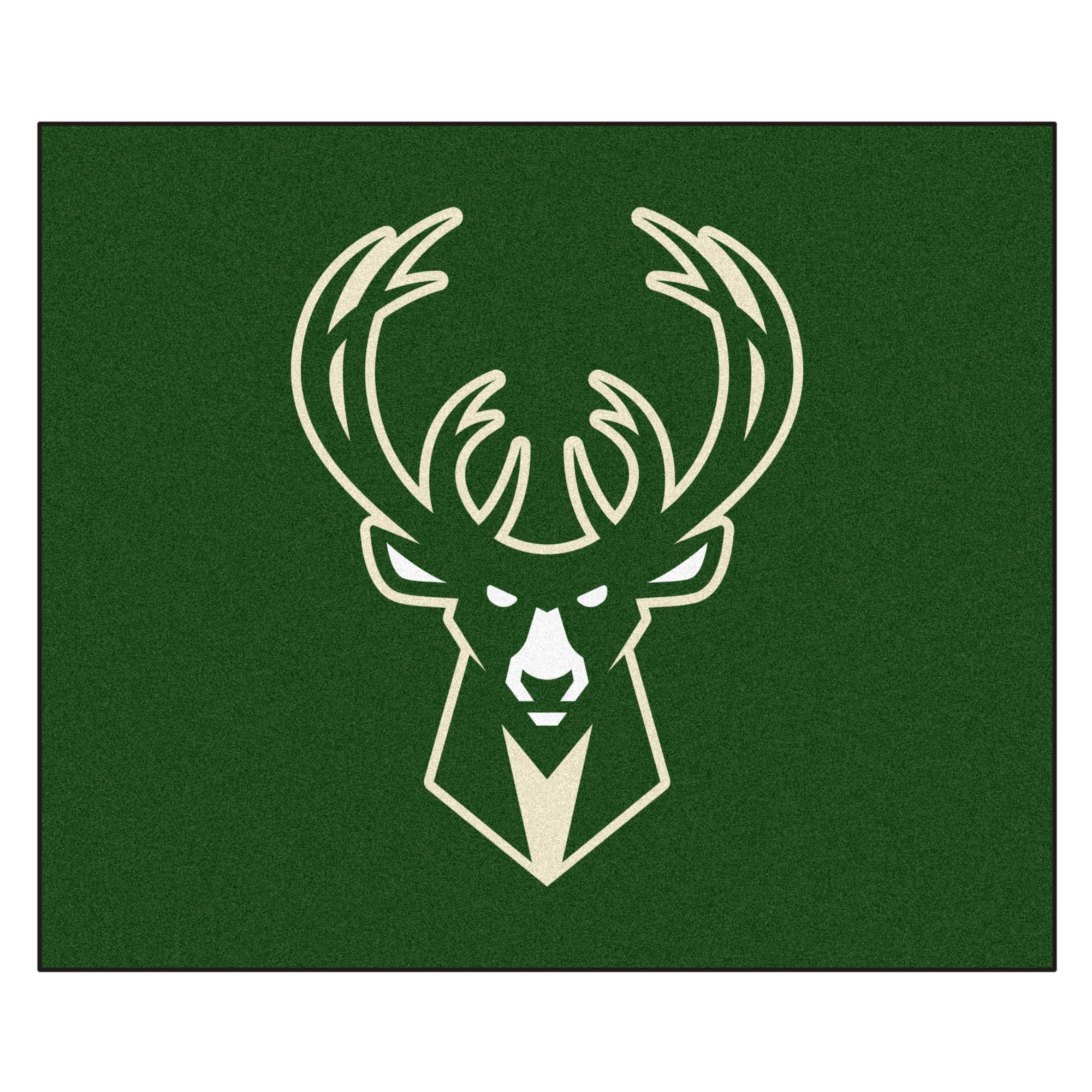 FANMATS 19454 NBA - Milwaukee Bucks Tailgater Rug , Team Color, 59.5''x71''