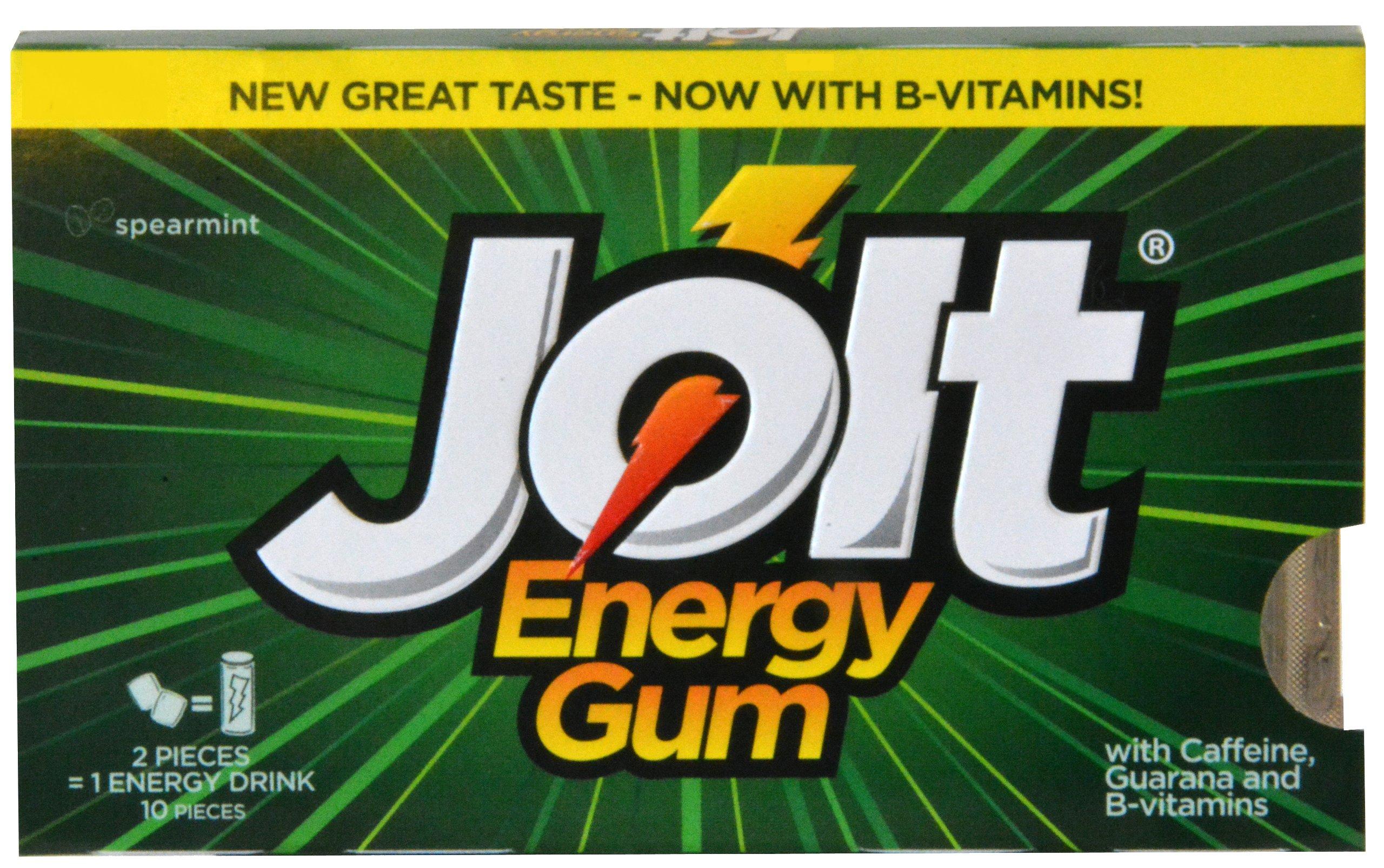 Jolt Energy Gum - Spearmint 12-pack
