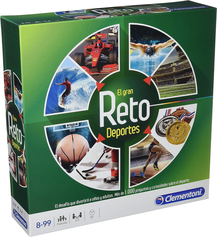Clementoni-El Gran Reto-Deportes, Multicolor (55262): Amazon.es: Juguetes y juegos