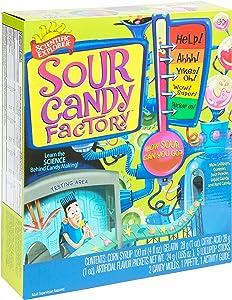 Scientific Explorer Sour Candy Factory Kids Science Experiment Kit, Blue