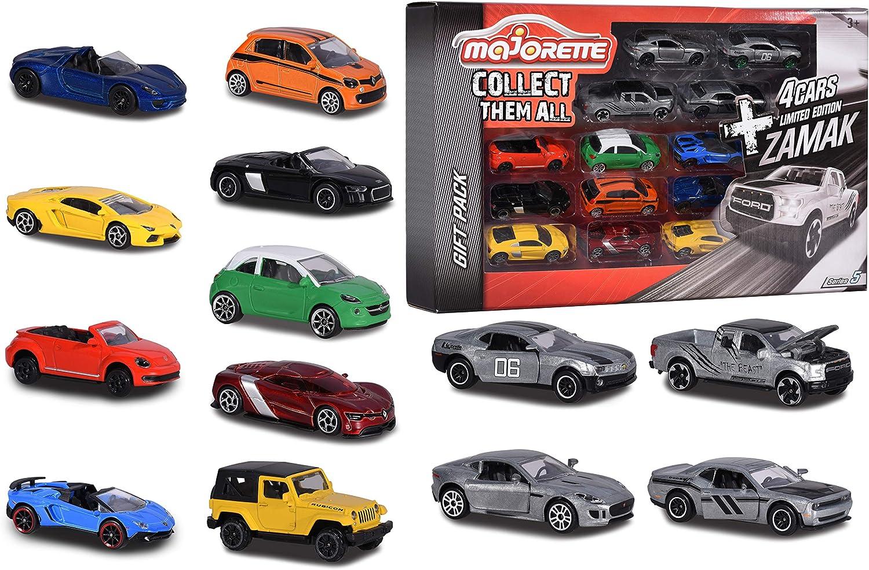 Majorette- Súperpack 9+ 4 Coches de Metal 2054020 Pack vehículos de Juguete, Multicolor, Norme (2054020) , color ...
