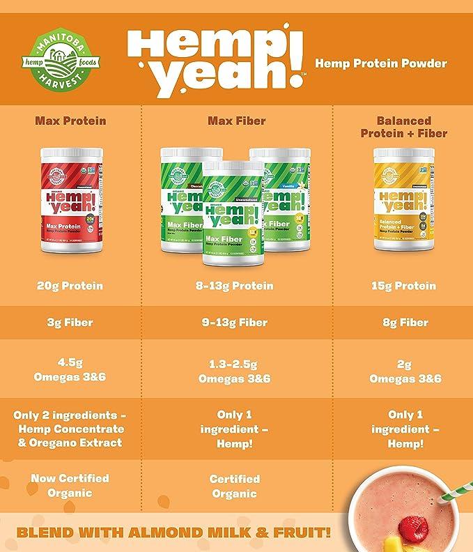 El cáñamo Pro 50 16 oz (454 g) - Manitoba cosecha: Amazon.es: Alimentación y bebidas