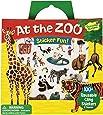 Peaceable Kingdom Press Sticker Fun! At The Zoo Reusable Sticker Tote