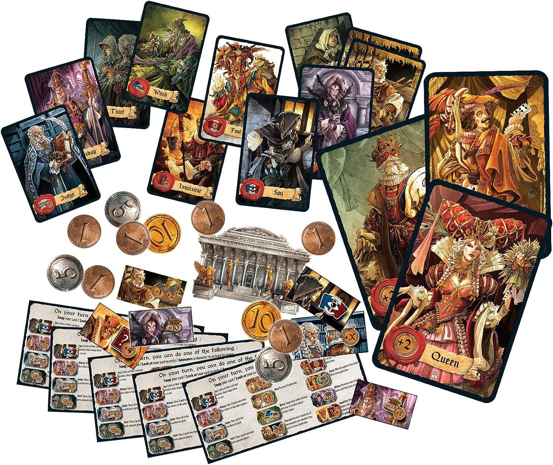 Mascarade Repos, Juego de Cartas (Versión Inglesa): Amazon.es: Juguetes y juegos