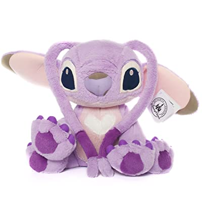 "Disney Parks Exclusive Stitch Angel Extremely Soft 14"" Inch Large Size Plush Doll: Toys & Games"