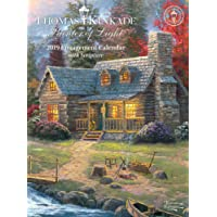 Thomas Kinkade Painter of Light With Scripture 2019 Diary